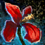 Konservierte rote Irisblüte Icon.png