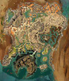 Gw2 Karte.Domäne Kourna Guild Wars 2 Wiki